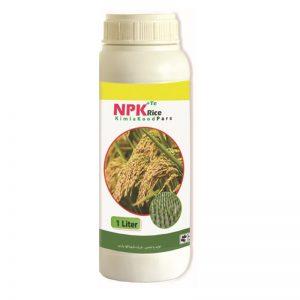 کود مایع کامل NPK مخصوص برنج ۱ لیتری - سنا پالیز