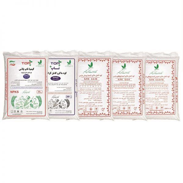 کود کامل ماکرو زراعت ۱۵-۵-۱۵ (۵۰کیلویی) - سناپالیز